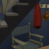 Blue - petit meuble d'entrée