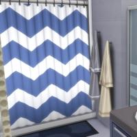 Blue - salle de bain - c�t� baignoire et douche