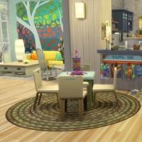 Blue - salon - l'espace jeu
