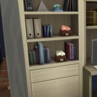 Blue - salon t�l� et bureau - le bureau