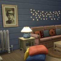 Blue - salon télé et bureau - le canapé
