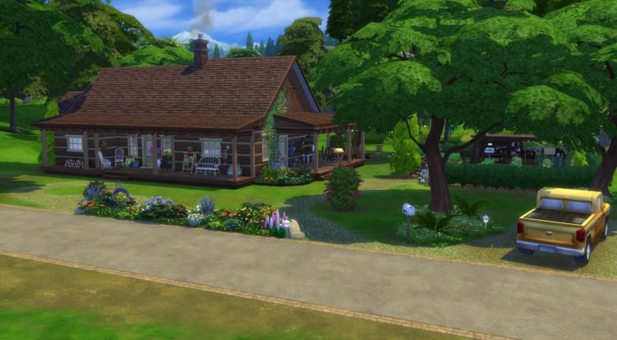 La cabane - façade avant - vue d'ensemble