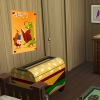 La cabane - la commode de la chambre pour bambin