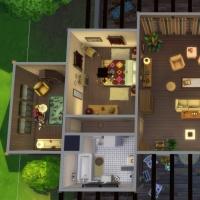 La cabane - le plan de la maison