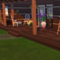 La cabane - porche avant