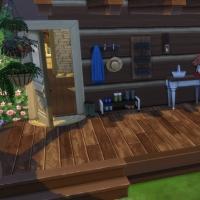 La cabane - porche latéral