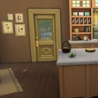 La cabane - sur le seuil de la cuisine