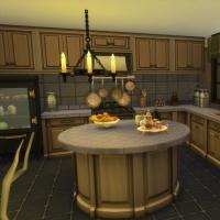 Cuisine et salle à manger vue 1