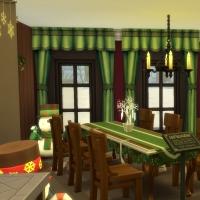 Cuisine et salle à manger vue 2