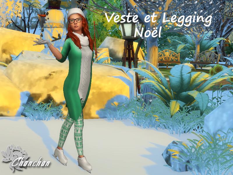 Veste et Legging No�l 1