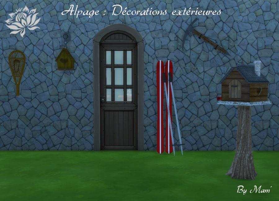 Alpage-décorations--extérieures
