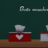 Boite-mouchoirs