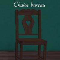 Chaise-bureau
