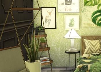 Chambre parentale Green Addict (avec CC)