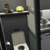 121 Maison Hakim - la salle de bain - vue 1