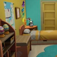 Kenza - Chambre d'enfant - vue 1