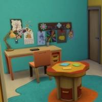 Kenza - Chambre d'enfant - vue 2