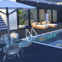 Kenza - la terrasse du rez-de chauss�e