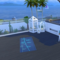 Kenza - Terrasse de l'�tage - vue 2