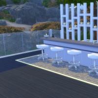 Kenza - Terrasse de l'�tage - vue 3