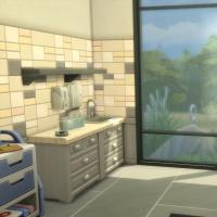 Salle de soin bleue vue 2