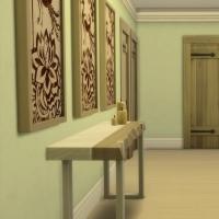 Bruy�re couloir chambres enfants