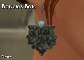Boucles d'oreilles Botoe
