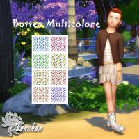 Bottes Multicolore