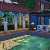 Piscine et terrasse vue 2