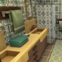 Salle de bains chambre double
