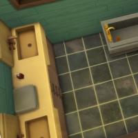 Salle de bains chambre priv�e