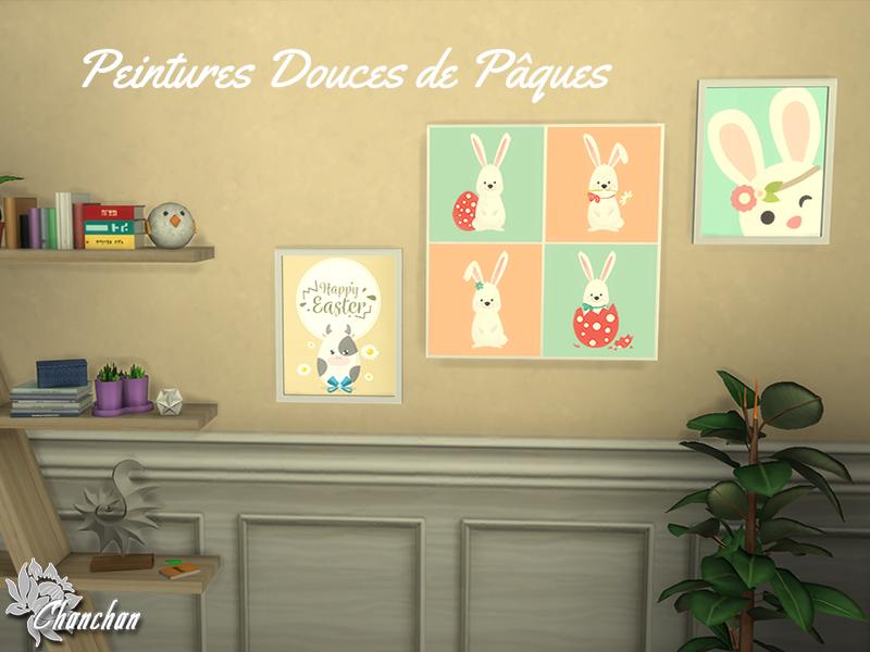 Peintures Douces de Pâques 1