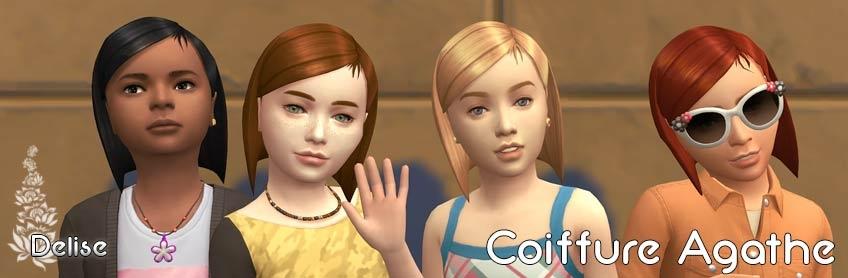 Coiffure Agathe pour enfants