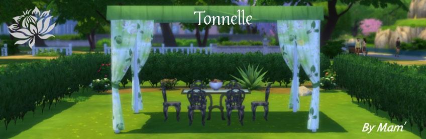 Tonnelle modulable