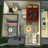 Tiny houses maison Elena vue intérieure