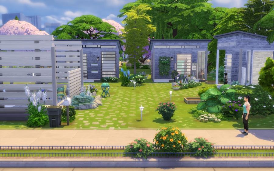 Tiny houses vue générale