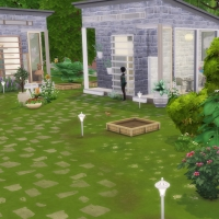 Tiny houses Vue jardin 1