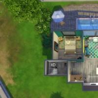 Vue en plan maison