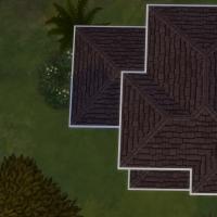 Vue en plan toiture