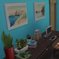 Le vieux phare - L'atelier de peinture - vue 2
