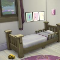 Le vieux phare - La chambre de bambine - vue 1