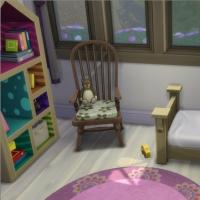Le vieux phare - La chambre de bambine - vue 3
