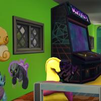 �tage 1 borne d'arcade