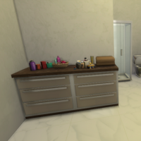 Salle de bain parentale