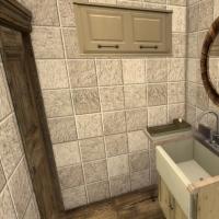Maison Ecureuil  salle de bain rez de chaussee 1