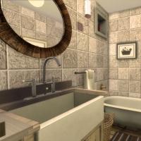 Maison Ecureuil  salle de bain rez de chaussee 2