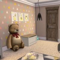Maison Ecureuil chambre bambin 2
