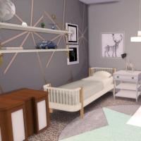 Maison Ecureuil chambre enfant 1