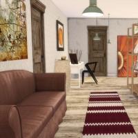 Maison Ecureuil couloir étage 1