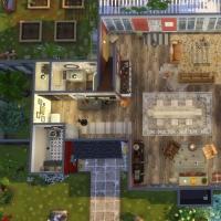 Maison Ecureuil plan rez de chaussée